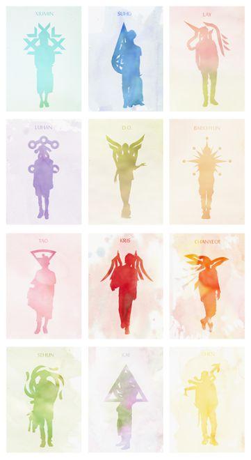 EXO ㅡ FANART♡