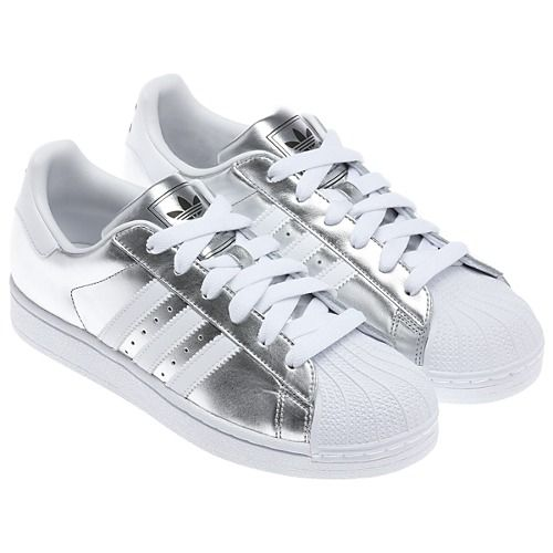 Adidas Shoes Superstar Silver
