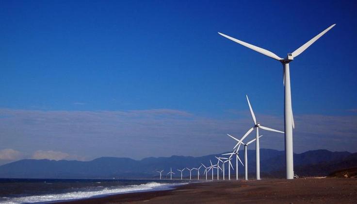 Bangui Wind Farm, Ilocos Norte, Philippines