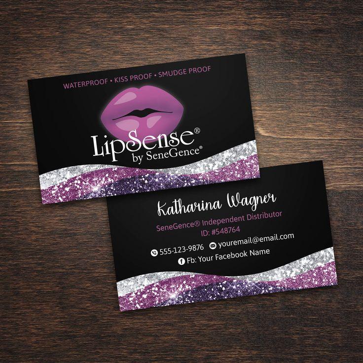 77 best LipSense images on Pinterest Business cards, Carte de - lipsense business card