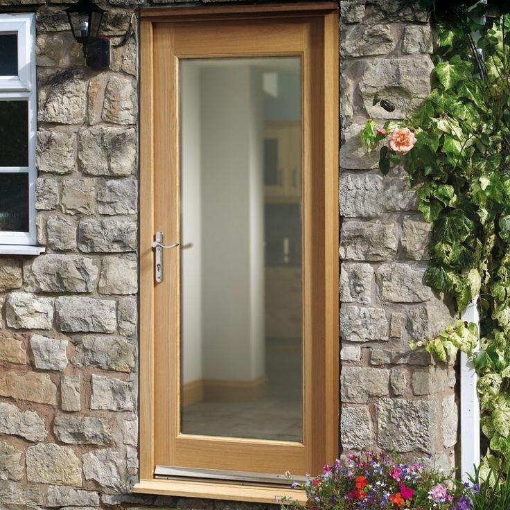 Patterned Glass For External Doors