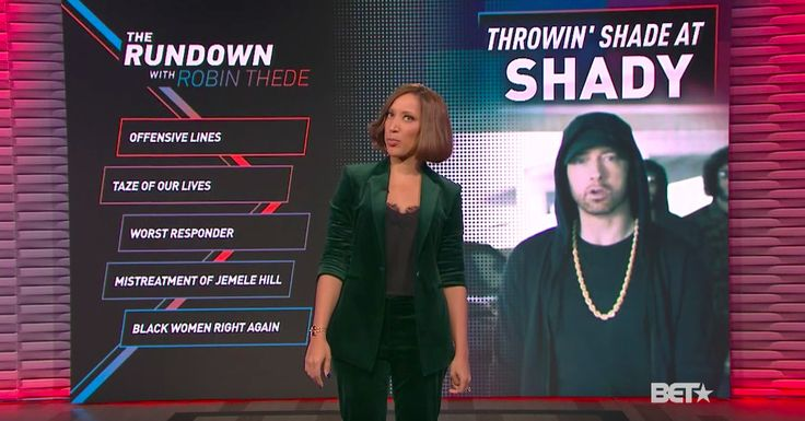 BETs The Rundown with Robin Thede carves out a unique spot in the late-night TV landscape