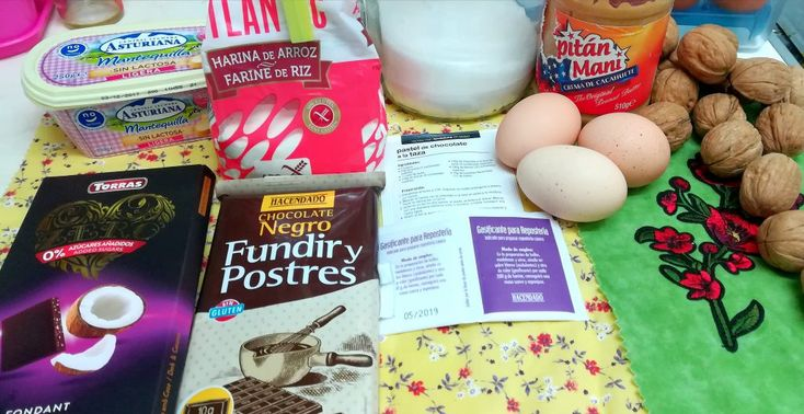Ingredientes Brownies Asimhappykitty