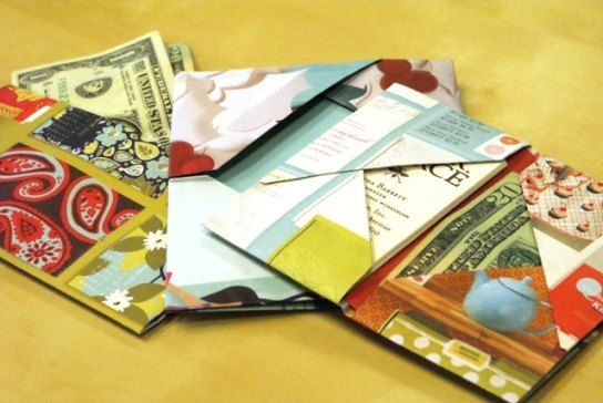 recycled paper crafts ideas 18 best images about paper wallets on gift 5319