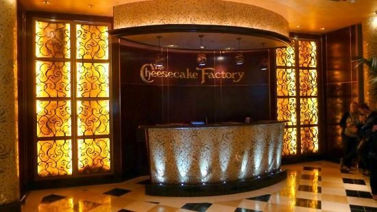 The Cheesecake Factory (4 trips): once in Portland, a 2nd time in San Fran, then Dallas, most recently Salt Lake City. Each time was fantastic.  Could well be my all-time favorite place to eat (i.e., amazing menu, upscale atmosphere and reasonable prices = 5stars)