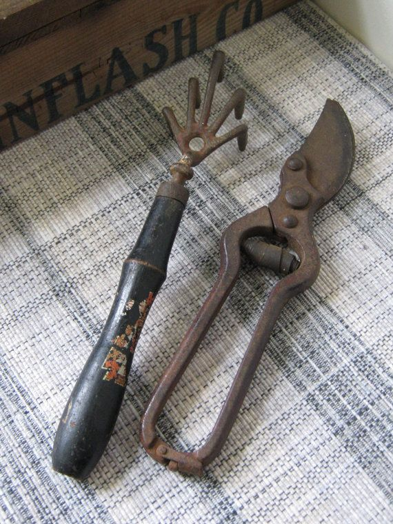 Vintage Garden Tools By NaturalVintage