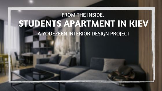 YØ DEZEEN Studio are the masterminds behind this stunning project involving a students apartment in Kiev.Discover how to find the right apartment for you!