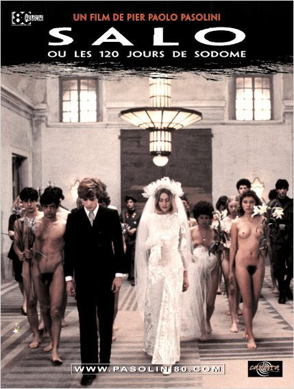 Salo ou les 120 journées de Sodome : Affiche
