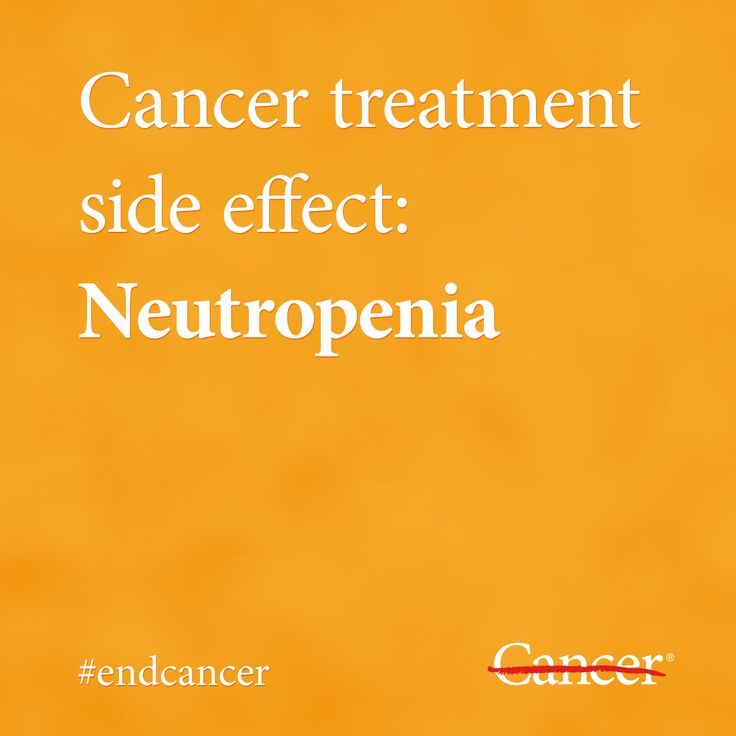 Cancer patients who undergo chemotherapy or radiation treatment may develop neutropenia, a condition that occurs when there's a depletion of white blood cells called neutrophils. Neutropenia can cause illness or infection, so it's critical to learn more about the symptoms, signs and treatment of neutropenia. Click through to learn more. #endcancer