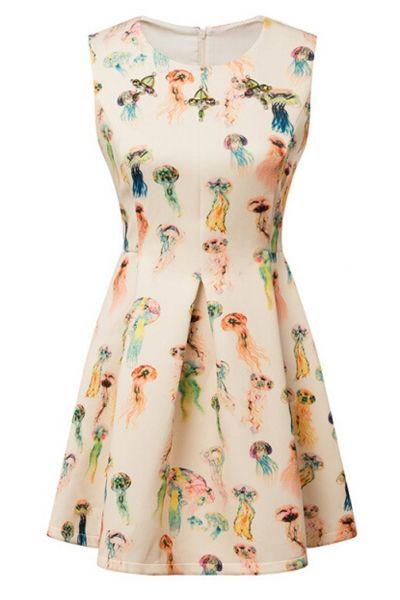 Essential A-Line Apricot Dress - OASAP.com i love the shape of this dress -mhv