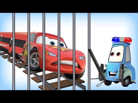 DIY How To Make Play Doh Disney Cars Lightning McQueen New Movies Play Doh Modelling Сreative - YouTube