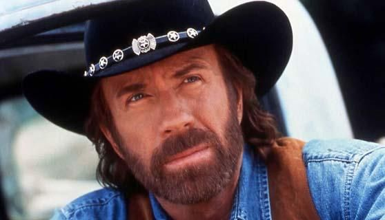 "Chuck Norris as Cordell Walker in ""Walker Texas Ranger"""