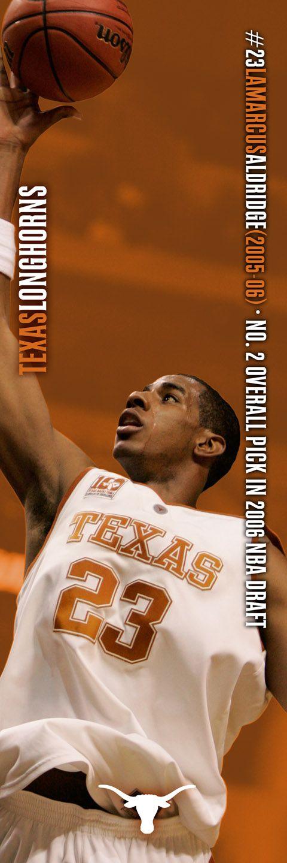 No. 23 LaMarcus Aldridge (2005-06); No. 2 overall pick in 2006 NBA Draft