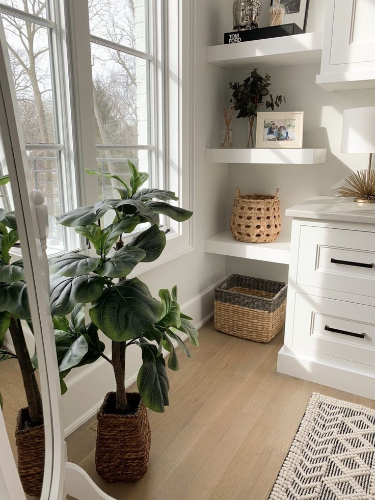 Home Office Tour My Kind Of Sweet In 2020 Home Built In Desk Home Decor