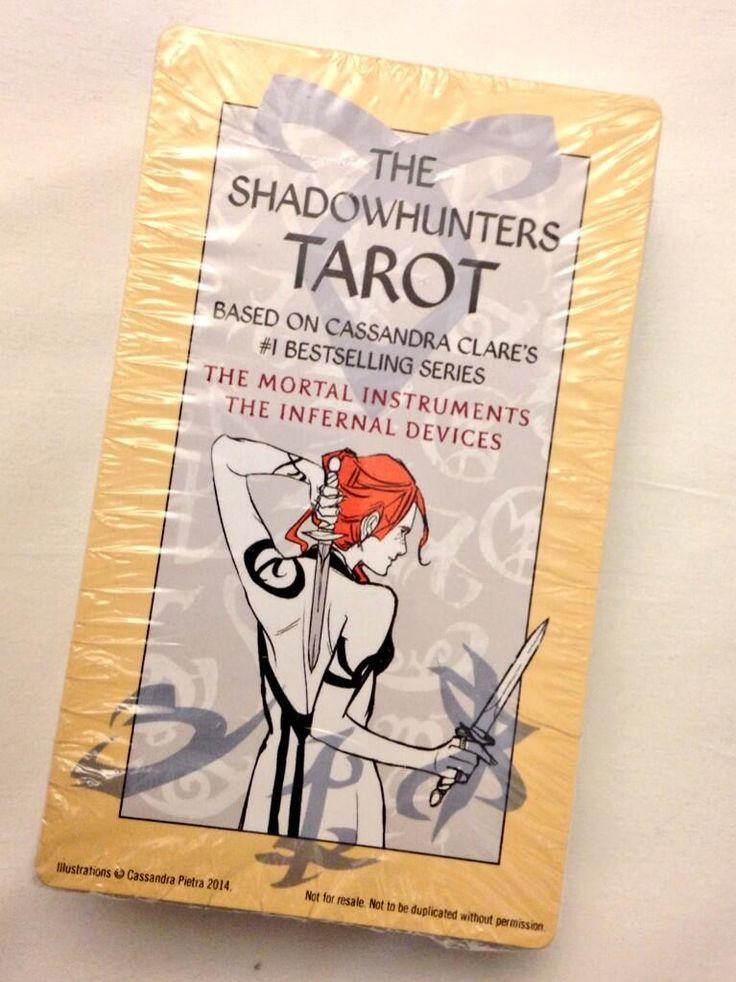 the shadowhunter tarot cards, looking good!