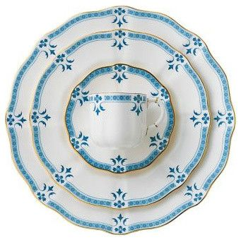 Royal Crown Derby Grenville Place Setting traditional dinnerware