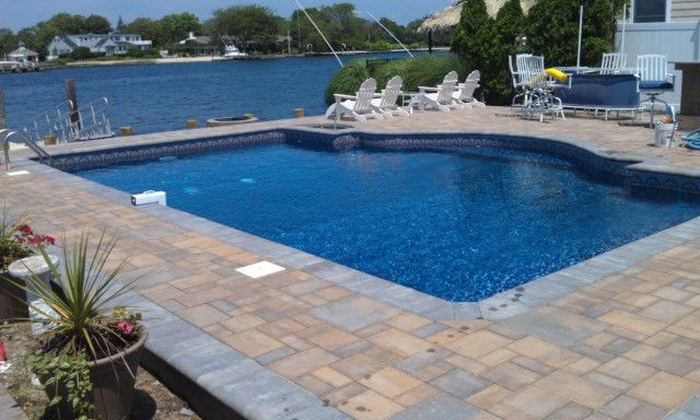Pool Rectangles: Pool Installation: Long Island Swimming Pools Contractor, Designer and Installer