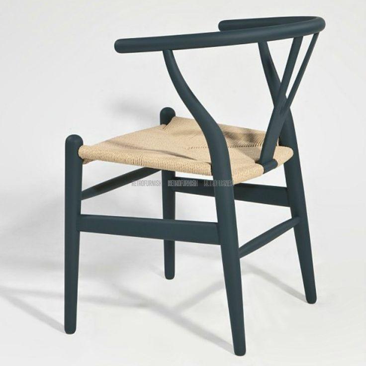 Wishbone Stoel CH24 Rattan Kleur - Replica design meubelen