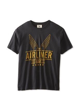 42% OFF Tailgate Clothing Company Men's The Airliner Bar T-Shirt (Dark Storm)