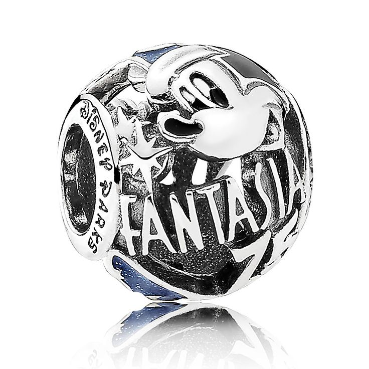 Sorcerer Mickey Fantasia 75th Anniversary Charm by PANDORA | Charms | Disney Store