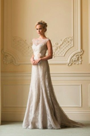 Orchid #wedding #dress #vintage Naomi Neoh 2014 collection