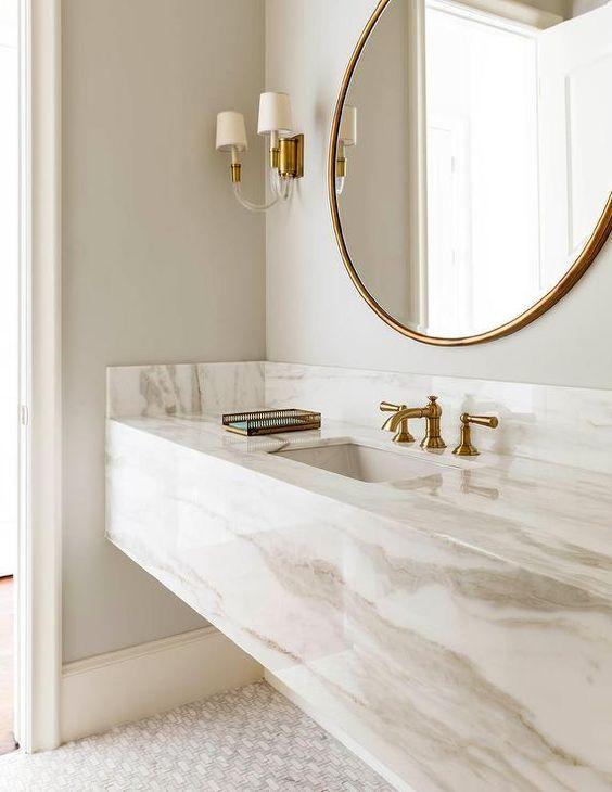 241 Best Bathroom Decor Images On Pinterest  Bathroom Bathroom Extraordinary Marble Bathroom Designs Inspiration