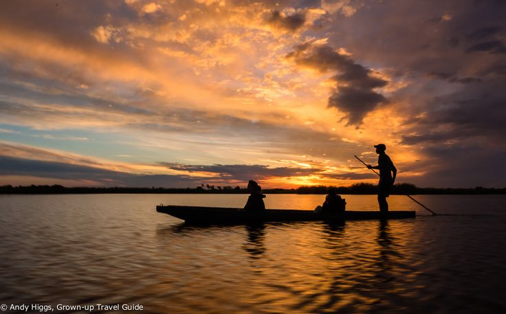 So, just how beautiful is this? Traversing the waters of the Okavango Delta in Botswana as the sun sets, gracefully and silently gliding along  in a 'mokoro' (dug-out canoe) at the hands of an expert local poler/guide.  You can do experience this yourself if you join our very first Grown-up Travel Guide Tour to Botswana that we are in the process of putting together. Sign up to our email newsletter on the blog to be the first to get the full details!  #botswanasafari2015
