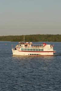 MS Kenora cruising Lake of the Woods