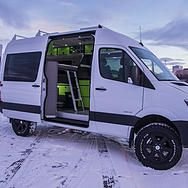 1000 Images About 4x4 Sprinter Work Truck Camper On