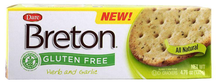 Dare Breton® Crackers Herb and Garlic
