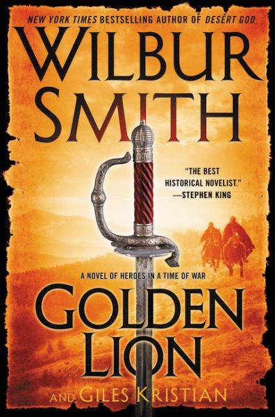 Golden Lion by Wilbur Smith and Giles Kristian reached #1 on The Globe and Mail's Historical Fiction bestseller list for May 21, 2016!