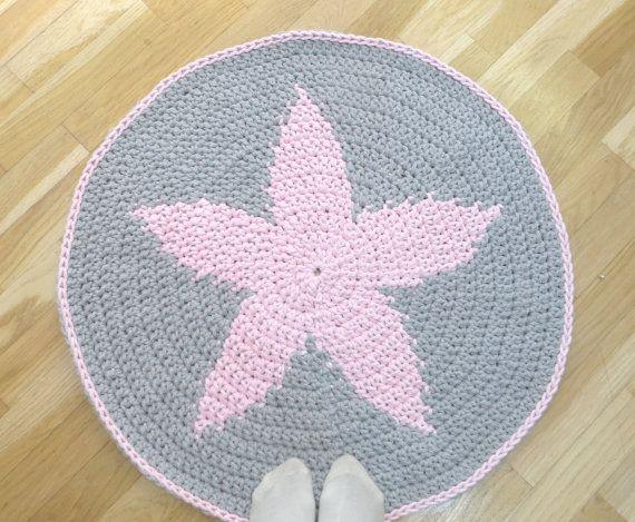Alfombra Estrella alfombra de trapillo decoracion por Niozeka
