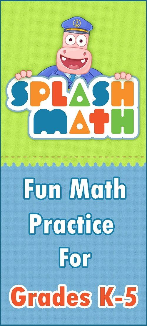 Homeschool Classroom Decor ~ Splash math grades to fun practice for kids