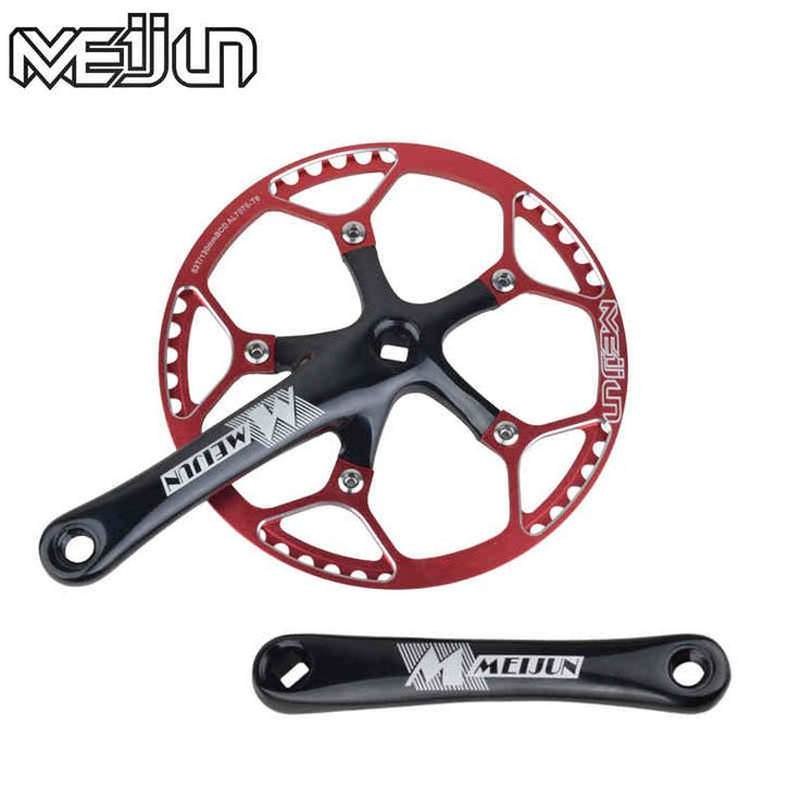 MEIJUN Mountain Bike 170mm 45T 47T 53T Crankset Aluminum Alloy Folding Bike Chain Wheel Crank Set  //Price: $US $69.80 & FREE Shipping //     #sports #sport #active #fit #football #soccer #basketball #ball #gametime   #fun #game #games
