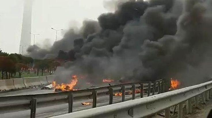 Συνετρίβη ελικόπτερο στην Κωνσταντινούπολη - 5 νεκροί