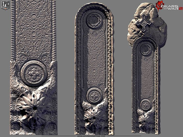 Gears of War 2 - Locust Palace VertSides by Kevin Johnstone