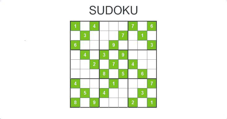 Riešte sudoku online. Viac ako 10000 sudoku pre mobil, tablet či PC zadarmo. Vyberte si zo 4 obtiažností: ľahké, stredne ťažké, ťažké, veľmi ťažké sudoku.