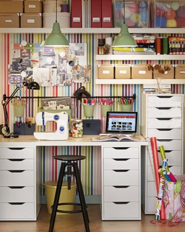 Ikea Home Office 15 Ikea Home Office With Craft Ideas The Towers Great For Scrapbook Paper