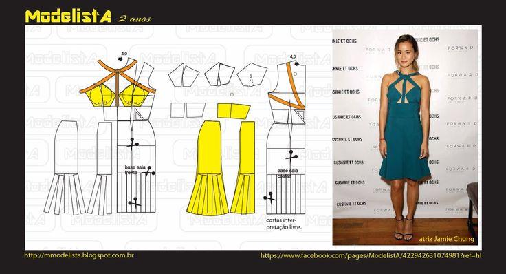 ModelistA: CUT OUT DRESS