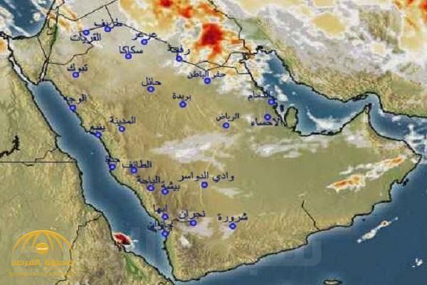 الأرصاد تكشف عن هطول أمطار رعدية في 3 مناطق وتحدد موعدها World Painting Map