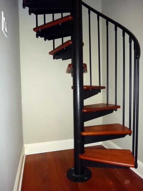 Spiral Stairs Basement Pinterest