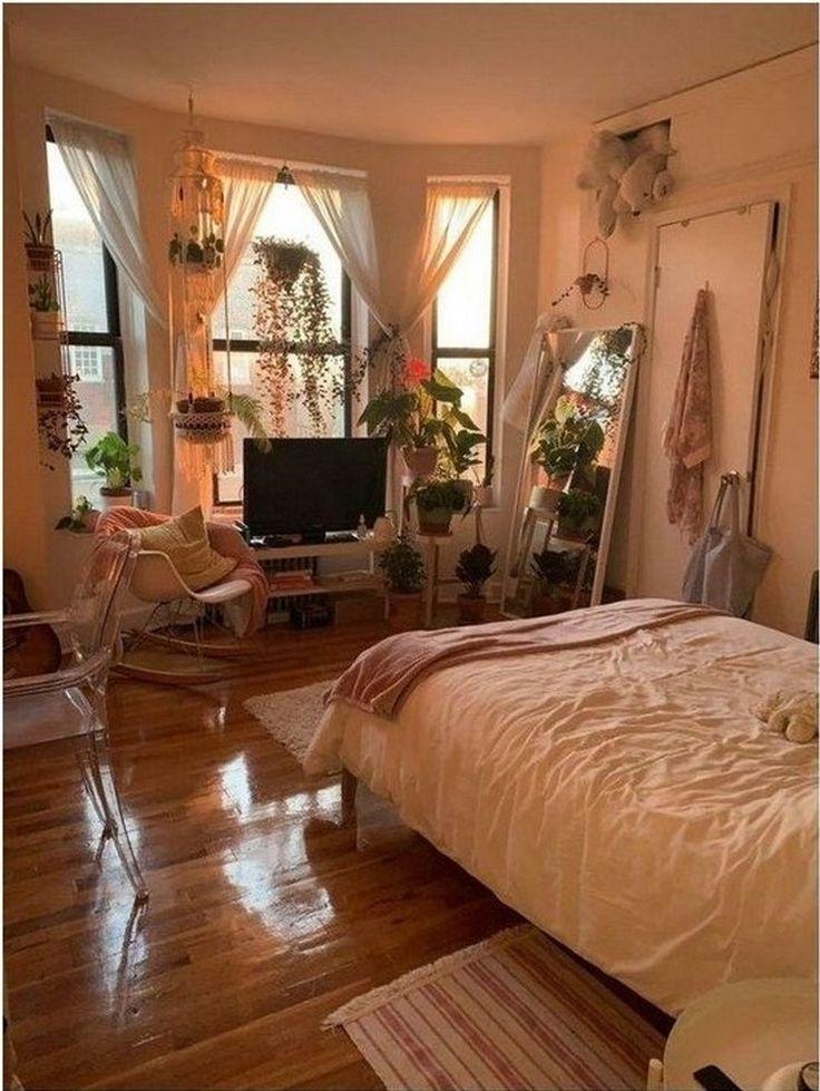 Böhmische Art-Ideen für Schlafzimmer-Dekor