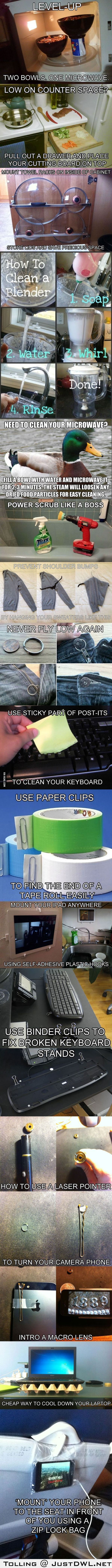 15 #Clever #Life #Hacks to Simplify Your #World