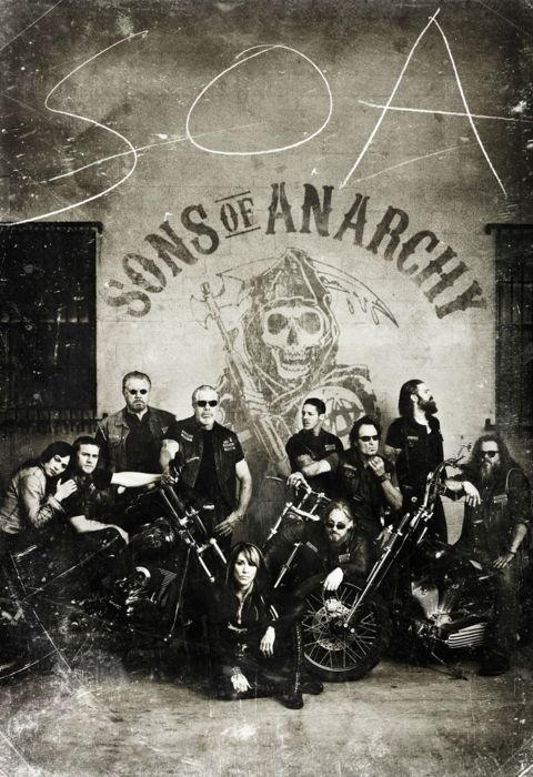 Sons of Anarchy- one of my all time fav shows. it's got badass music, a smoking hot biker (obviously jax) and a freaking awesome story.