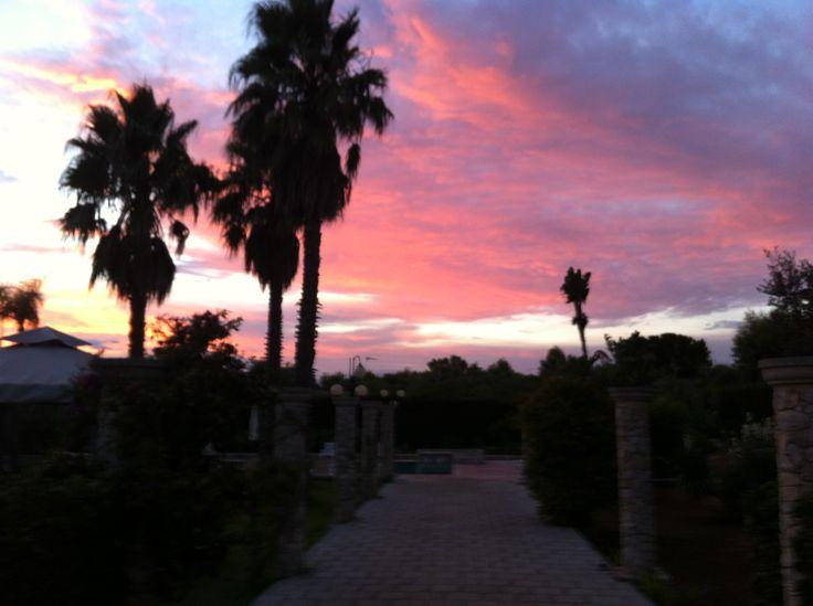 tramonto a Specolizzi www.specolizzi.it
