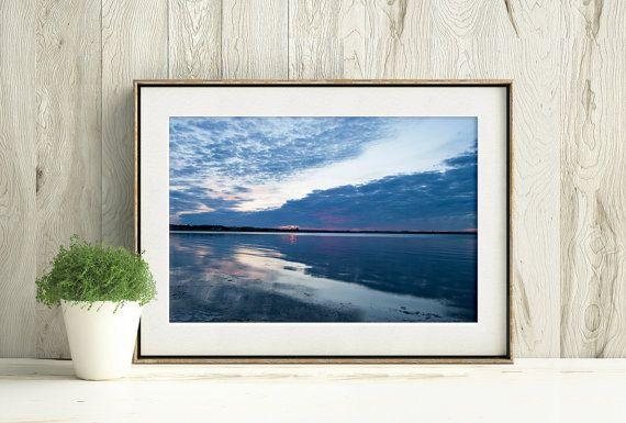 Canadian Seascape Photograph, Printable Beach Decor by PlayfulPixieStudio  #bytheshore #printablewallart #digitaldownload #nautical