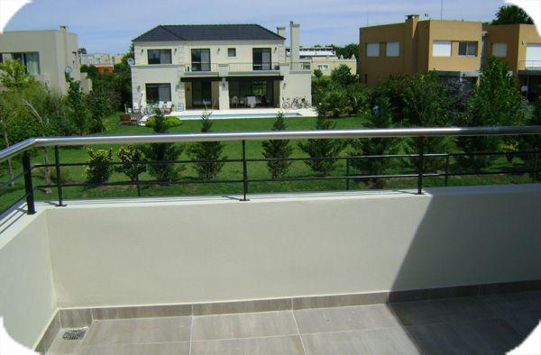baranda terraza terraza y huerto pinterest On barandas de terrazas modernas