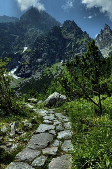 Over every mountain there is a path, although it may not be seen from the valley. ~Theodore Roethke~