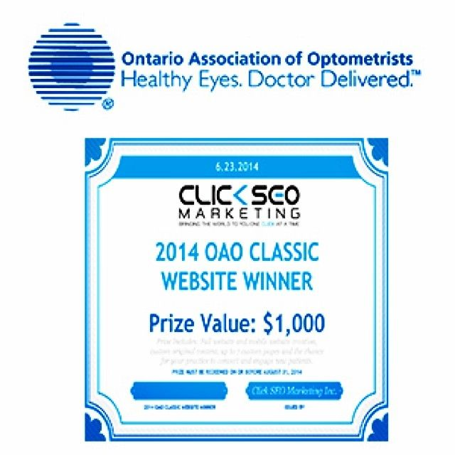 Check out this awesome prize we #donated to the Ontario Association of Optometrists for their annual OAO Golf Classic last week. #SEO #ClickSEOMarketing #internetmarketing #business #marketing #strategy #growth #changinglives #bestinthebusiness