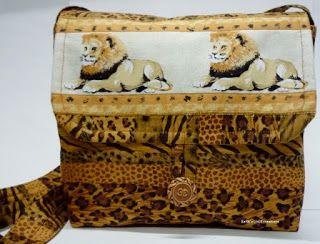 BaRb'n'ShEll Creations-Lion satchel - BaRb